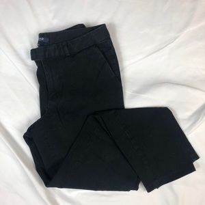 Madewell Black Ankle Chino Pants